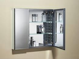 Bathroom Mirror Storage Bathroom Mirror With Storage Shelf Free Image