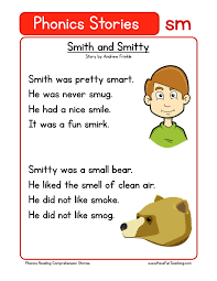 Reading Comprehension Worksheet - Smith and Smitty