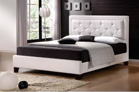 modern style bed of the bedroom interior in the modern style