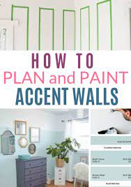 painting accent walls diy