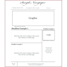 Free Newspaper Article Template For Students Free Newspaper Article Template For Google Docs Editable Googl