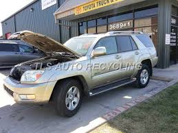 parting out 2003 toyota 4 runner stock 3048gy tls auto recycling 2003 toyota 4 runner parts stock 3048gy