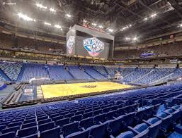 Smoothie King Seating Chart View Smoothie King Center Section 102 Seat Views Seatgeek