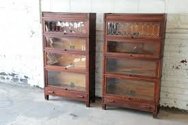 antique bookcases awesome antique bookcase with glass doors antique oak barrister bookcases