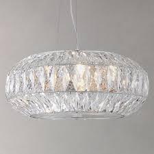 john lewis kelsey crystal ceiling light