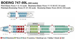 Boeing 747 8i Seating Chart 22 Valid 747 800 Seating Chart