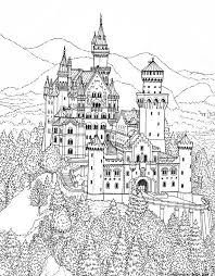 Small Picture Princess castle coloring pages print free online house girl