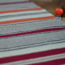 striped area rugs handwoven wool rug area rug floor rug kilim rug home decor rug striped wool rug grey red and orange stripes