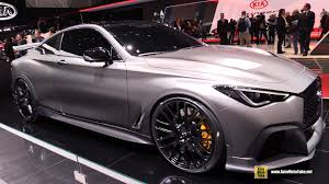 infiniti q60 blacked out. 2017 infiniti q60 project black s exterior walkaround geneva motor show 2 blacked out