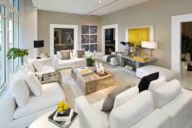 White Living Room Designs Appealing False Ceiling Lighting With Fabric Couch As Florida Room