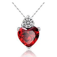 whole romantic multicolor crystal love heart pendants joyen brand zircon necklaces for women jewelry whole china best friend necklaces rose gold