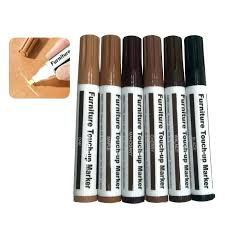 furniture touch up pen markers 6 repair paper wrapped wax sticks 1 sharpener pens bunnings