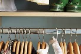 a properly working closet will help keep your life organized