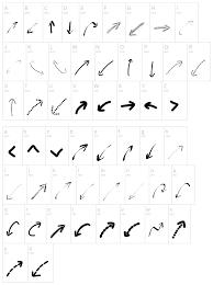 Web Design Arrows Peax Webdesign Arrows Free Font Resourcevault