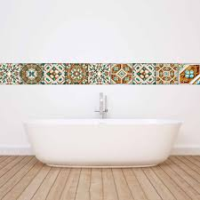 20pcs self adhesive mosaic bathroom pvc wall tiles