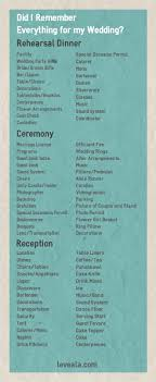 what you need for a wedding checklist here is a wedding checklist of everything you need to have at your