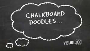 Chalkboard Powerpoint Background Chalkboard Doodles A Powerpoint Template From Presentermedia Com