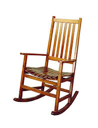 wooden rocking chair. Contemporary Rocking Wood Rocker Arm Chair Warm Brown To Wooden Rocking