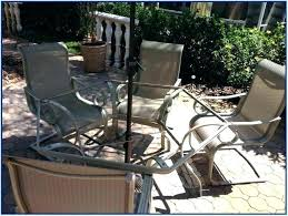 idea living accents patio furniture for park bench