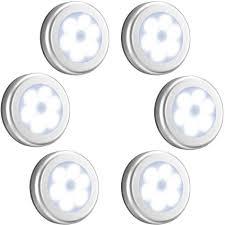 Battery Powered 6 Led Closet Light With Motion Sensor Motion Sensor Light Cordless Battery Powered Led Night