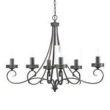 chandeliers home depot canada kichler evan 5 light chandelier in 6 light bronze clear chandelier