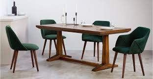 green dining room furniture. Lule. A Set Of 2 Dining Chairs, In Pine Green Velvet Room Furniture S