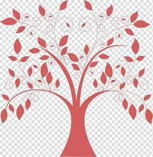red background frame wall decal