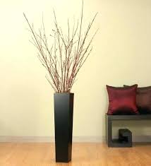 T Astonishing Large Decorative Vases Modern Decor Contemporary  Floor In Addition To