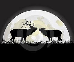 Ilustrace15830036 Jelen Proti Měsíc Autor Maristep