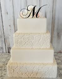 monogrammed wedding cakes. best 25+ monogram wedding cakes ideas on pinterest | cake with initials, lace and top flowers monogrammed