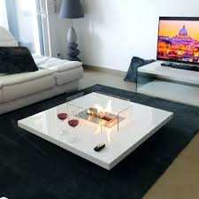 charming coffee table fire pit fire pit coffee table fireplace with remote ethanol burner insert in
