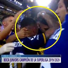 Carlos Zambrano en Boca Juniors campeón: peruano se abrazó con Carlos Tevez  emocionado por su primer título con el 'Xeneize' en la Superliga Argentina  2020 | VIDEO | INTERNACIONAL