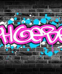 home s kids bedroom graffiti wall art