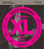 <b>DAddario</b> XL Half Rounds Bass 45-100 (<b>ENR71</b>) – купить <b>струны</b> ...