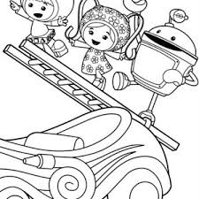 Small Picture Team Umizoomi Get Sail with Bot Coloring Page Color Luna