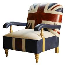 and while a thrown may be overkill you can still give a nod to the royal family by flying the flag for britannia with the coe union jack chair from barker