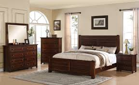 Queen Bedroom Furniture Elements International Dawson Creek Ds600qb Queen Bed Johnny