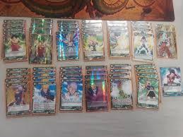 dragon ball super card game broly deck fully plete 50 cards 1 gohan leader ebay
