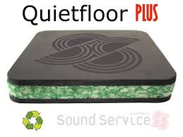 quietfloor plus noise reducing replacement acoustic underlay for carpets