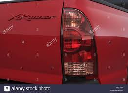 2007 Toyota Tacoma X Runner in Red - Tail light Stock Photo ...