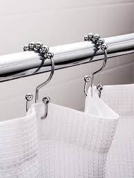 open top shower curtain rings shower curtain hooks rings lb depot