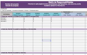 formato de asistencias formato de ram matriz de responsabilidades y control de asistencia