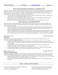 Executive Resume Manufacturing Manager Example Pdf Proc Sevte