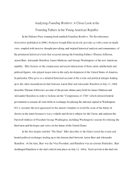 ap us first essay on founding brothers book chs alexander ap us first essay on founding brothers book chs 1 4 alexander hamilton the united states