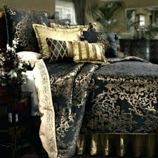 black gold bedding and comforter sets king best ideas on with within designs 10 piece dawson