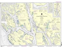 Southeast Alaska Chart The Coastal Waters Of Southeast Alaska And British Columbia