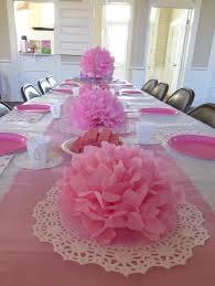 Tissue Paper Flower Centerpieces Cheap Baby Shower Ideas Cheap Party Decorations Paper