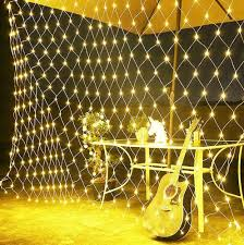 <b>LED Net Mesh</b> String <b>Lights</b> With 8 Flashing Modes Decoration For ...