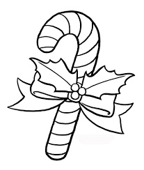 Small Picture Free Printable Candy Cane Coloring Pages For Kids