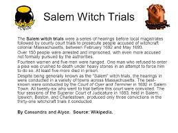 background to the crucible m witch trials the m witch  2 m witch